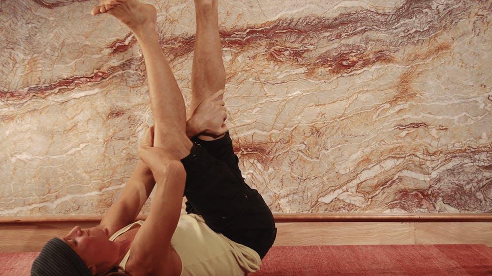 Straight Leg Opener - Starting Stretch Position